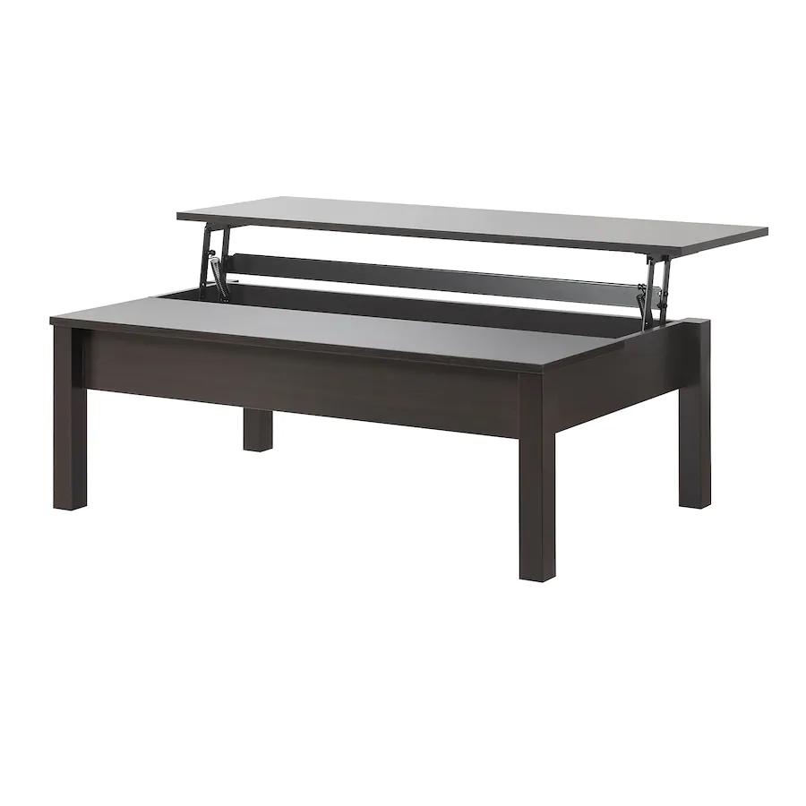 Trulstorp Coffee Table Black Brown 45 1 4x27 1 2 Ikea Ikea Coffee Table Coffee Table With Storage Coffee Table [ 900 x 900 Pixel ]