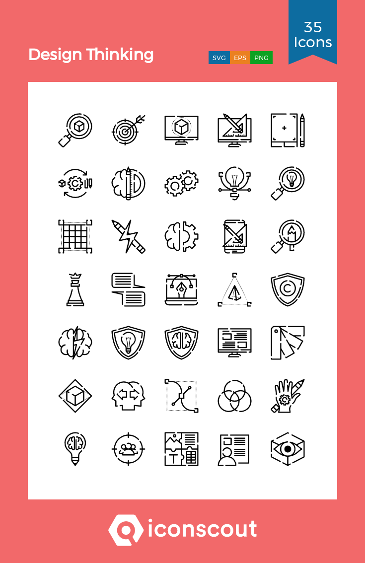 Download Design Thinking Icon Pack Available In Svg Png Eps Ai Icon Fonts Design Thinking Icon Icon Pack