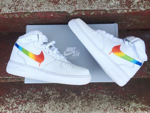 nike air force 1 rainbow