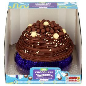 Asda Mega Malty Chocolate Factory Ultimate Cupcake
