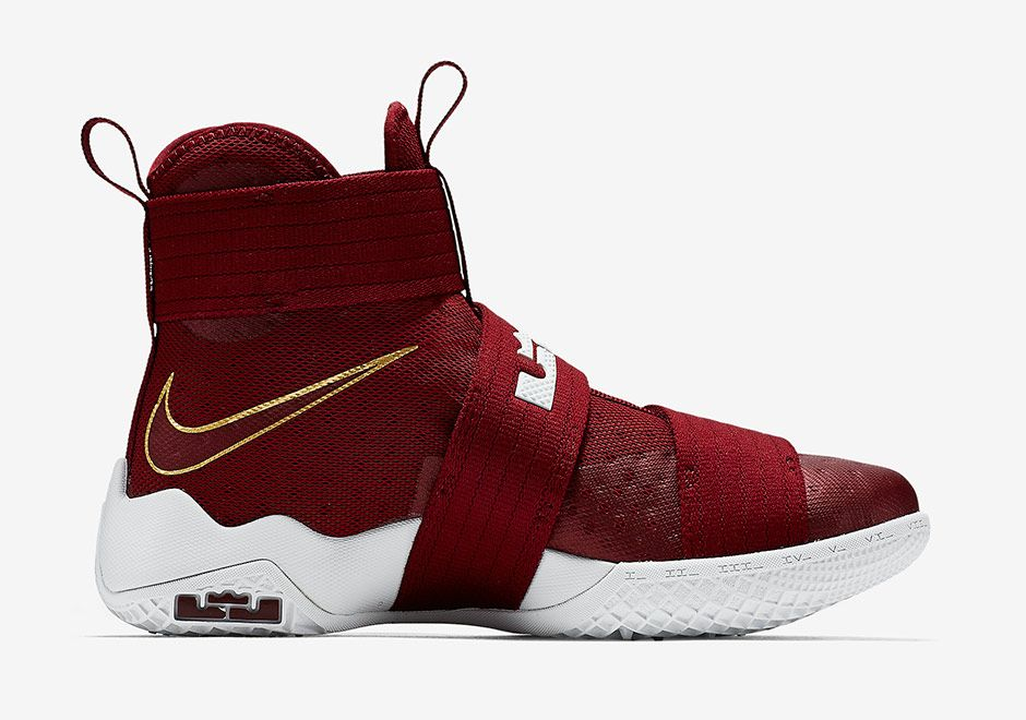 2e1ded1c94f6 Team Red Lands On The Nike LeBron Zoom Soldier 10