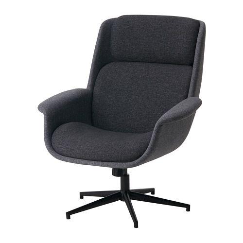 Ikea Aleby Drehsessel Mit Wippmechanismus Der Sich Den