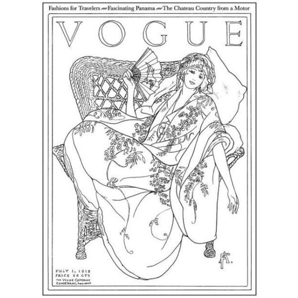 Vogue Colors A To Z A Fashion Coloring Book Liked On Polyvore Featuring Books Fashion Coloring Book Coloring Books Colorful Fashion
