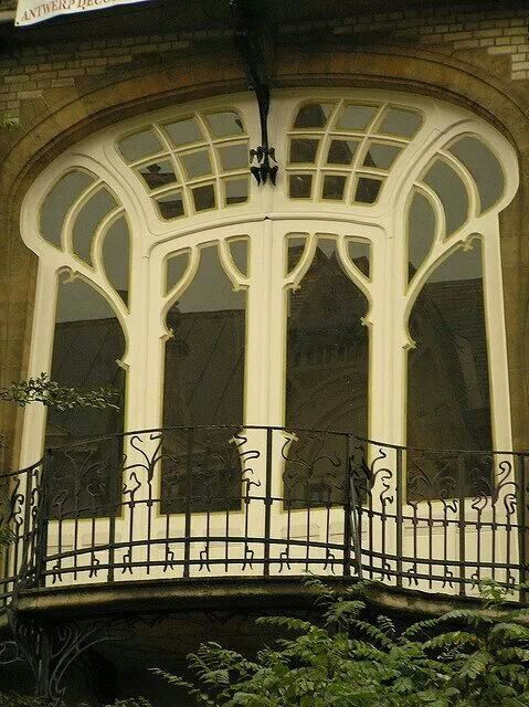 Art Nouveau Balcony Anvers Belgium ArchitectureAmazing ArchitectureArchitecture Interior