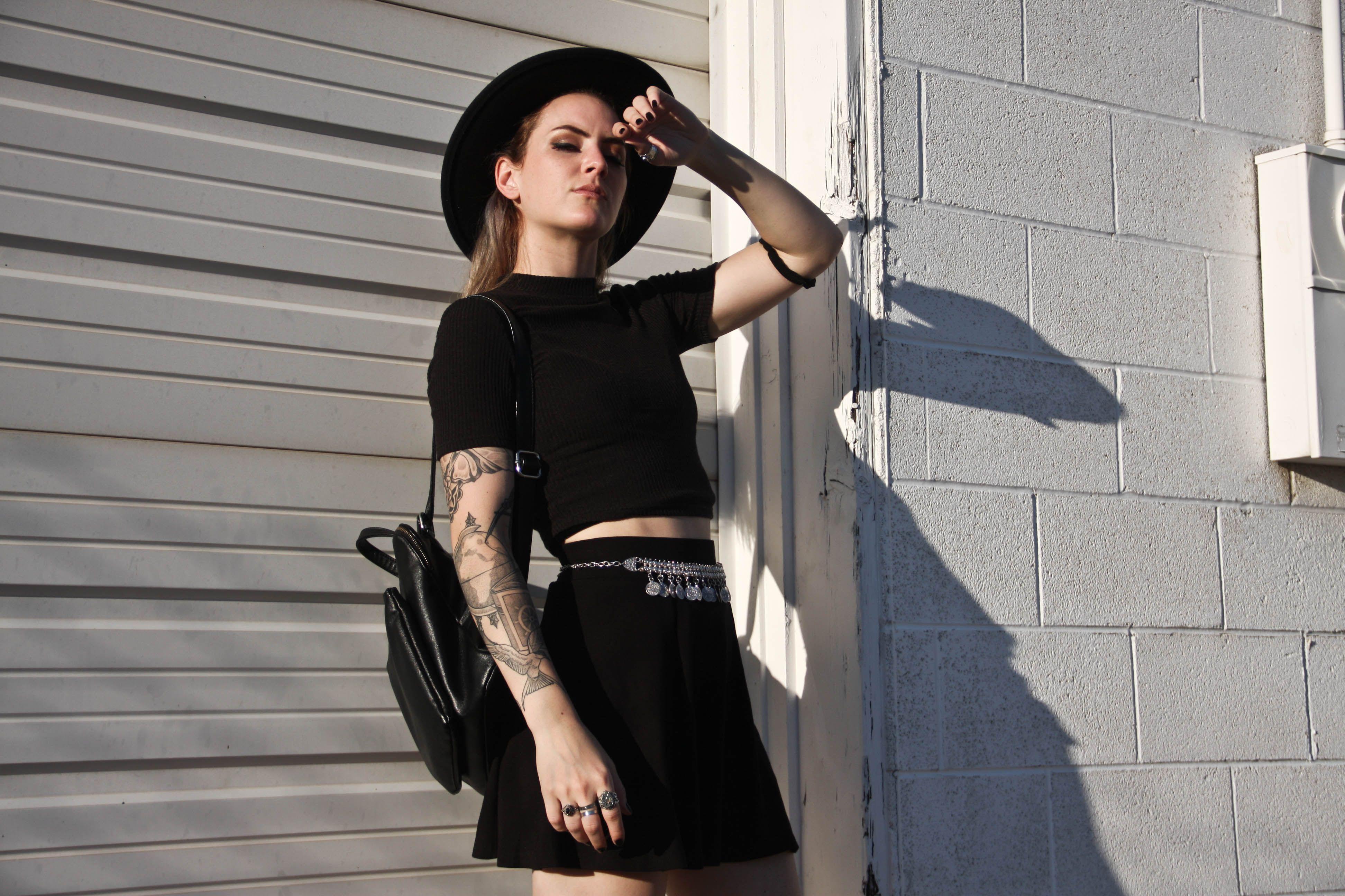 Goth grunge streetwear outfits pinterest grunge