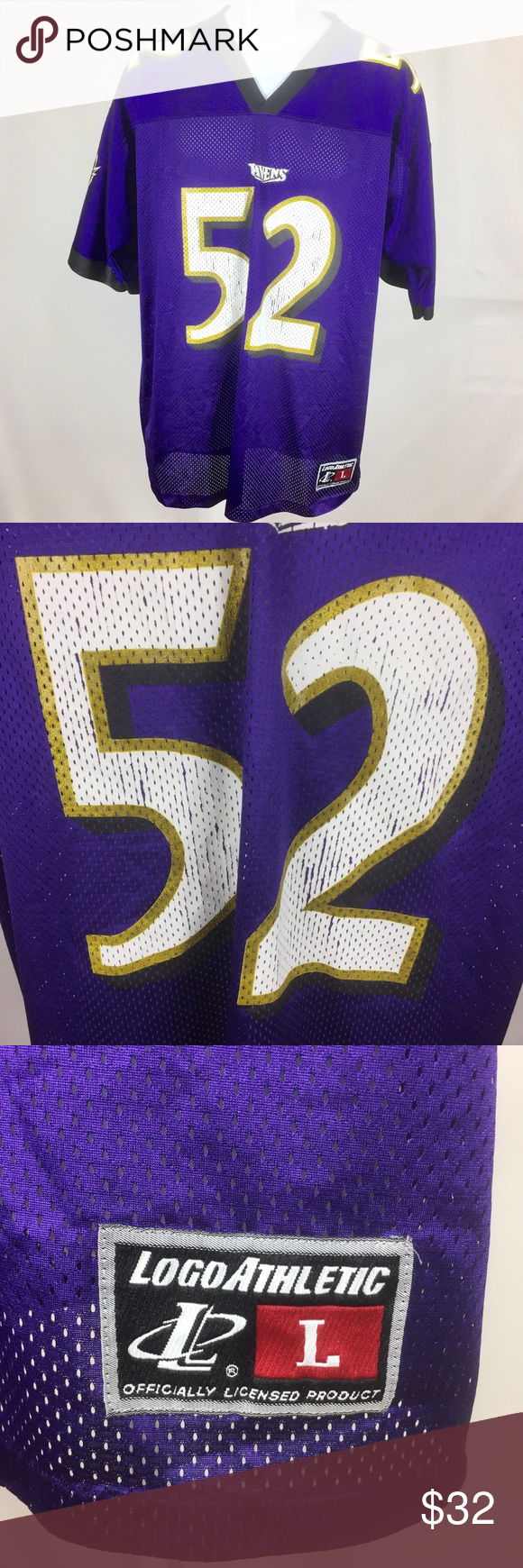Baltimore Ravens Ray Lewis Football NFL Jersey L Baltimore