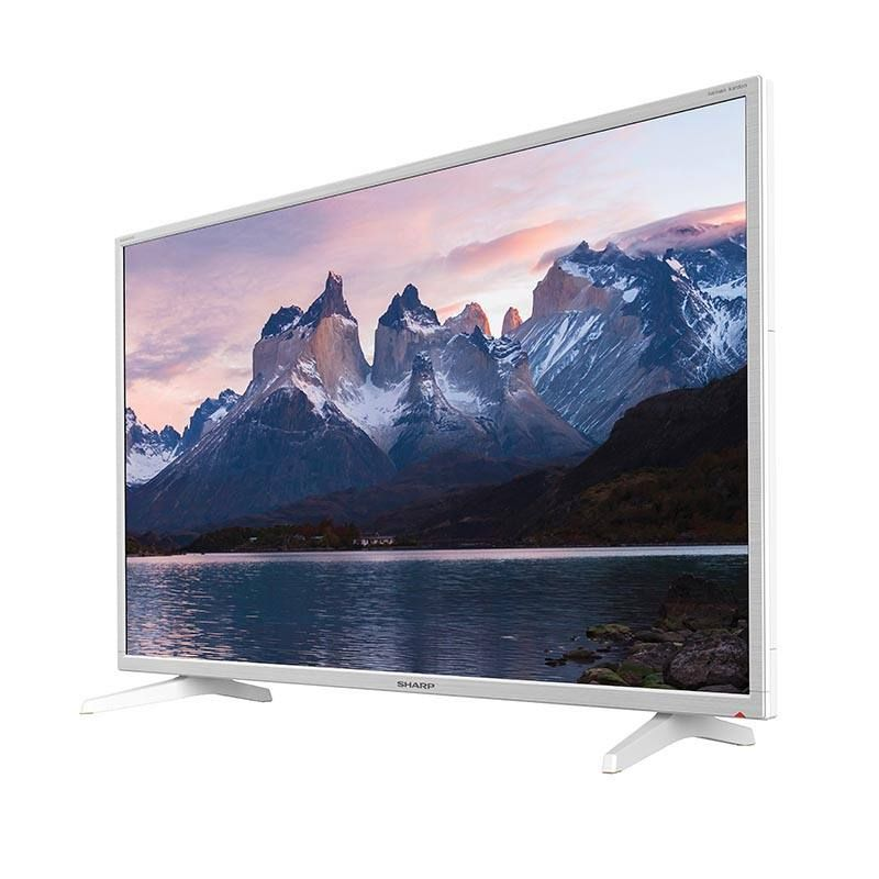 tv sharp 40bf2ew full hd blanc sharp