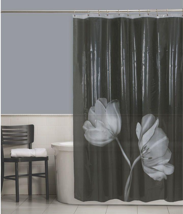 JCPenney Maytex Mills Tulip PEVA Shower Curtain