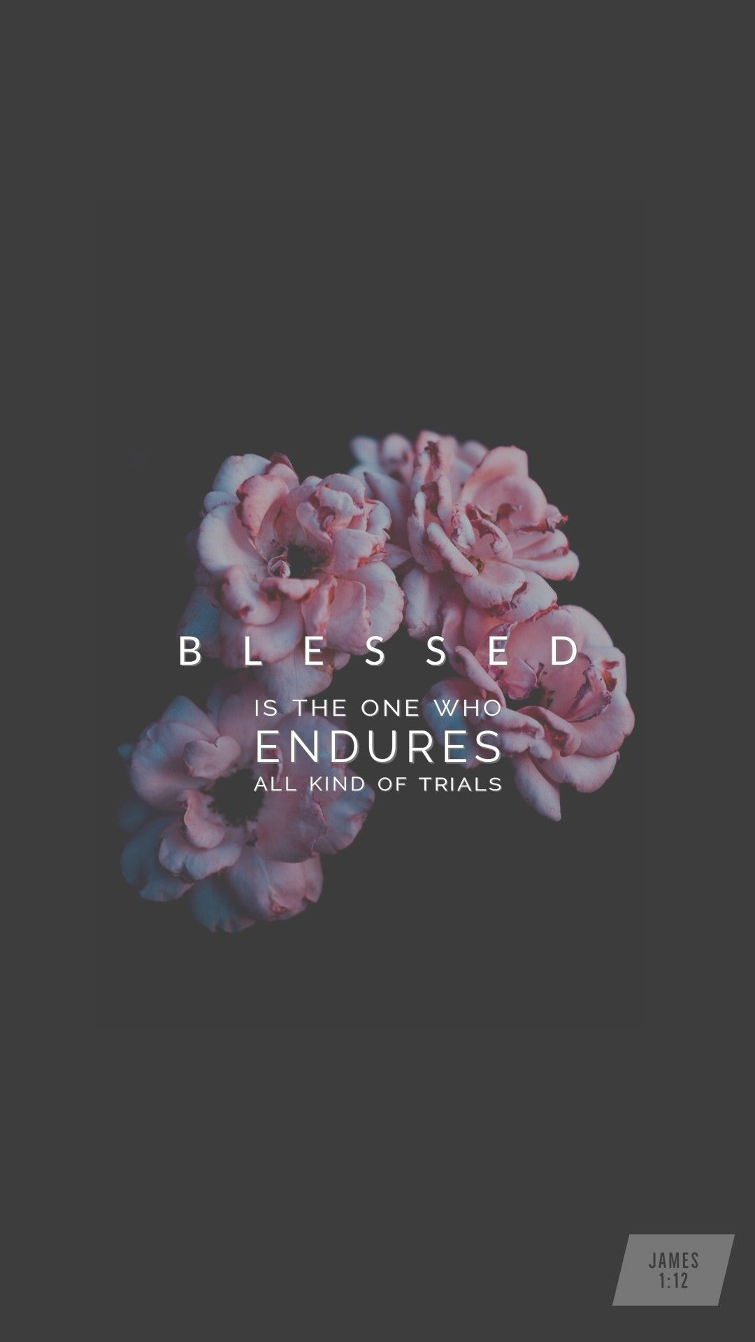 Blessed is the man that endureth temptation: for when he is tried, he shall receive the crown of life, which the