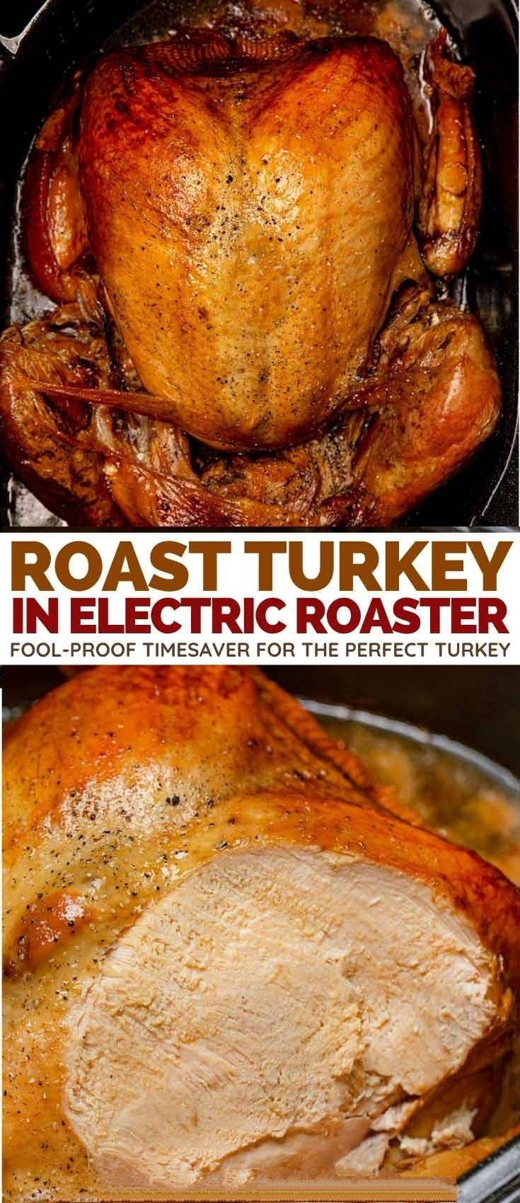 How long to cook turkey in electric roaster