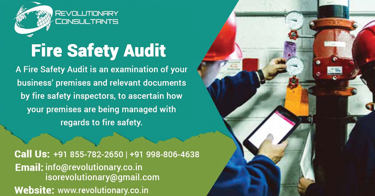 Fire Safety Audi Safety audit, Fire safety, Process