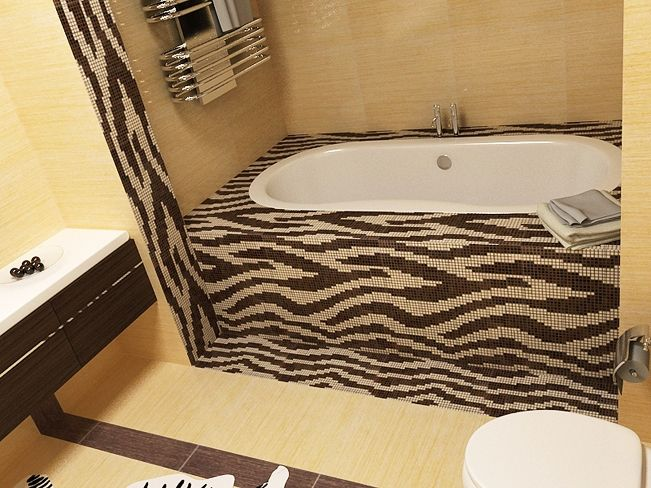 Print Bathroom Ideas Tub Wooden Style Interior Best With Leopard Accents More Safari