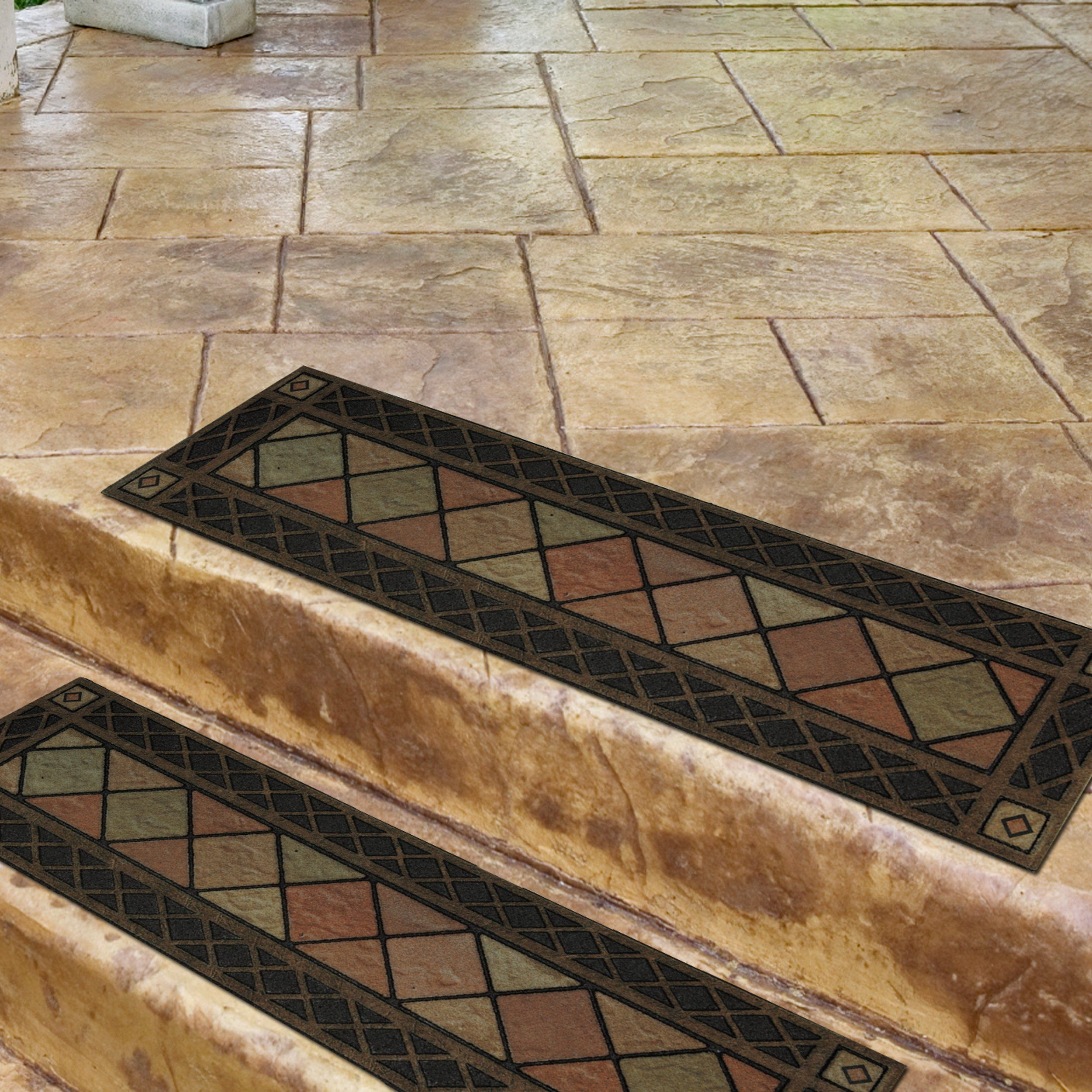 set trellis of mats on design tread quotations shopping yellow rubber stair protectors gold find cheap carpet deals lattice get modern guides rugs