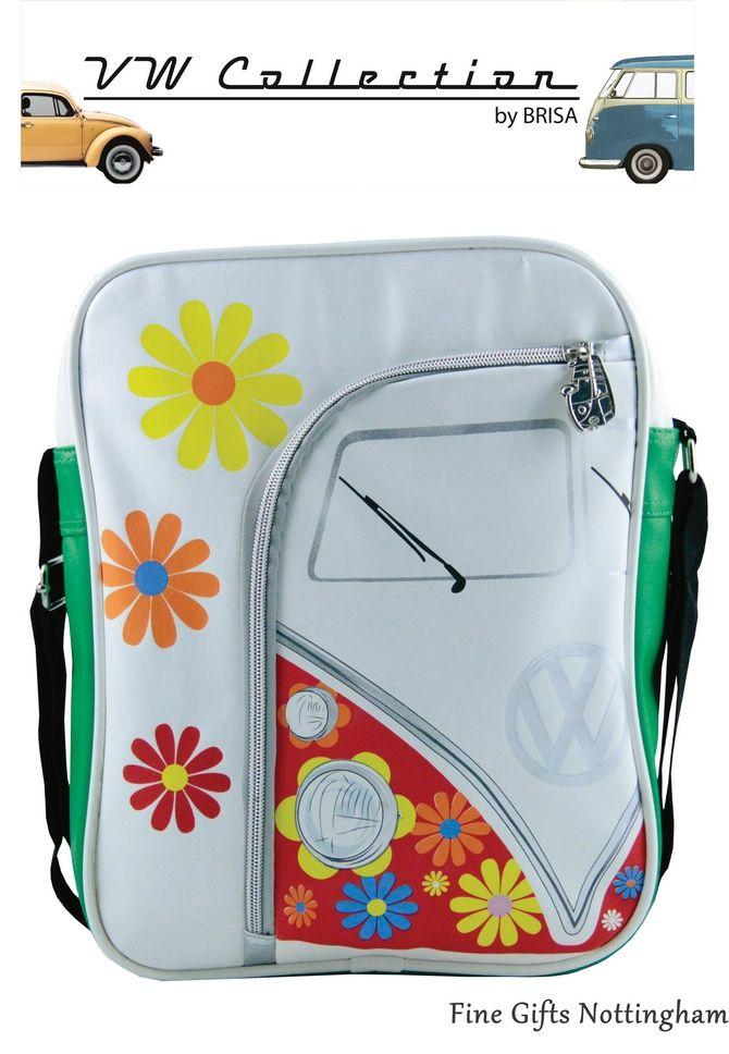 VW VOLKSWAGEN Logo Quirky Cartoon Campervan Long Purse Wallet Zipped Xmas Gift