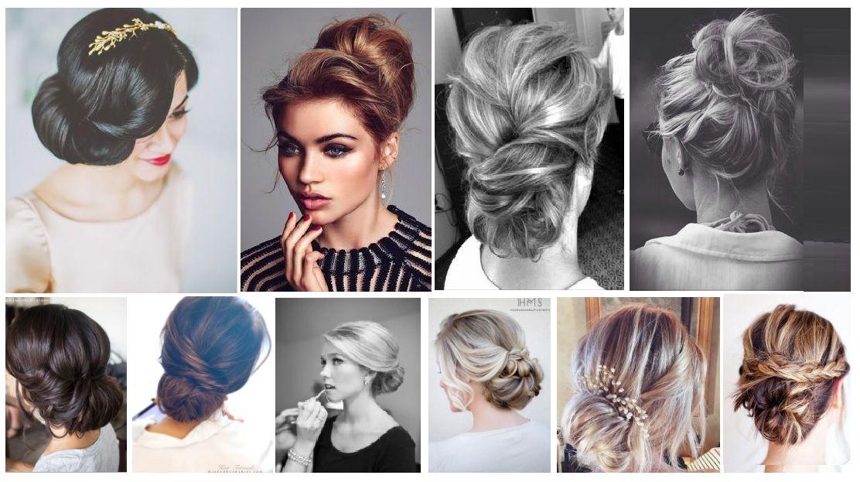 30 Modeles De Chignons Glamour Inspires De Pinterest A Essayer Cette Annee Modele De Chignon Chignons Glamour Idee Chignon