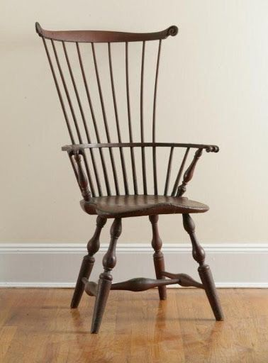 Prime Red Painted Comb Back Windsor Arm Chair Isaac Kitchell Home Interior And Landscaping Ologienasavecom