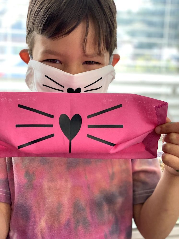 Photo of Cat Face Mask Tutorial and Pattern