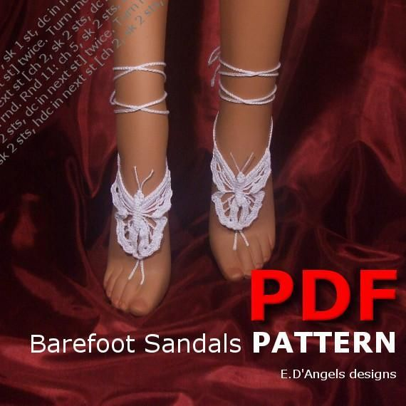 Free Pattern For Footless Scandals Barefoot Sandals