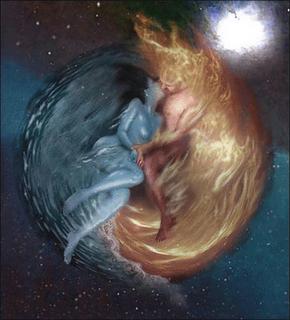 Leyendas Patagonicas El Hain Y El Mito De La Pelea Entre El Sol Y La Luna Sol Luna Llamas Gemelas Amor Arte