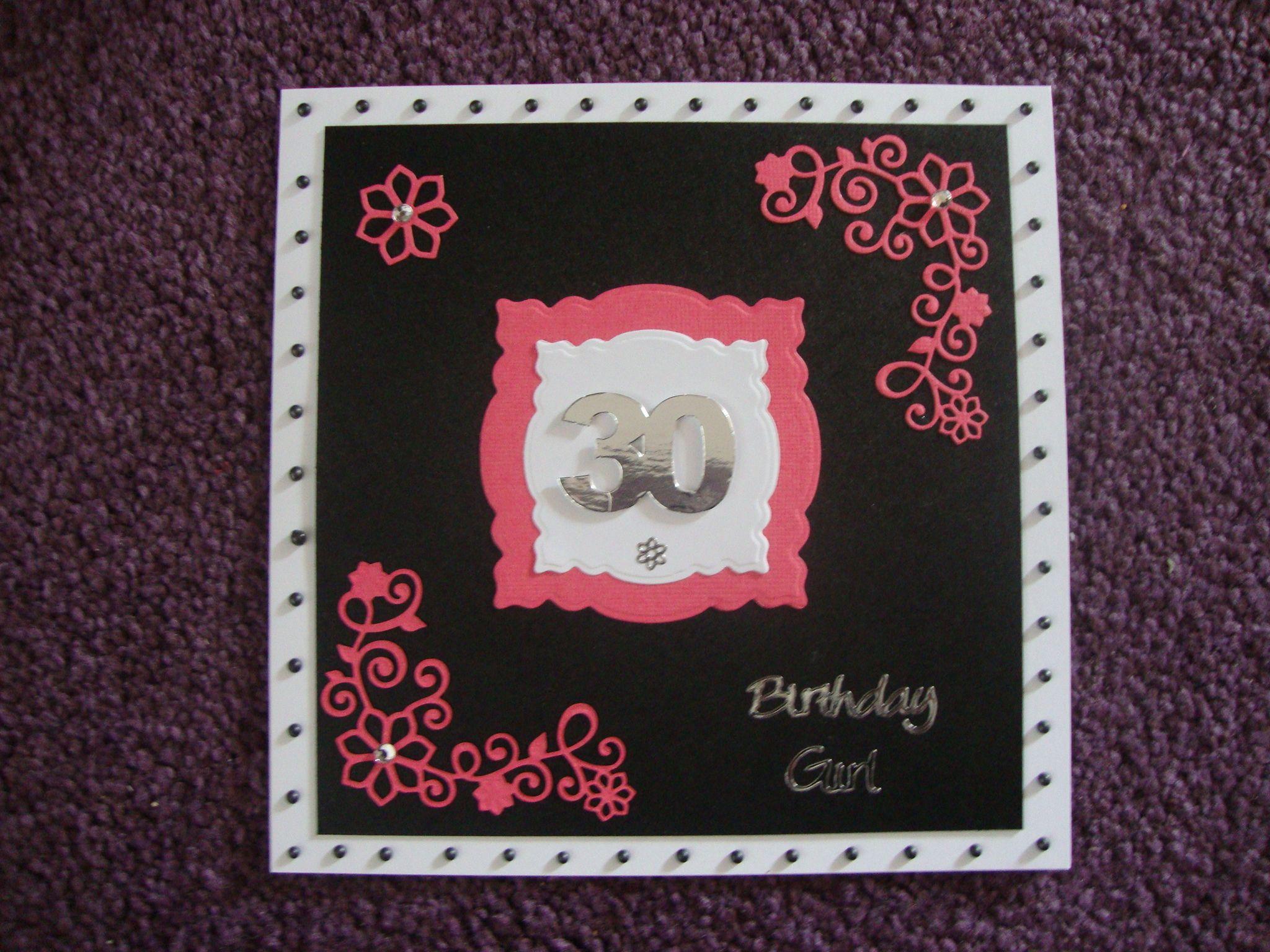 30th birthday card 30th birthday cards