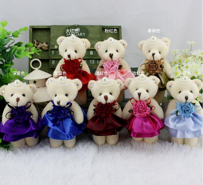09d609f91e1 Teddy Bear Plush Doll Toys Cartoon Flower Packaging Material Wedding Gift  Joint Bears Wholesale Florist Supplies