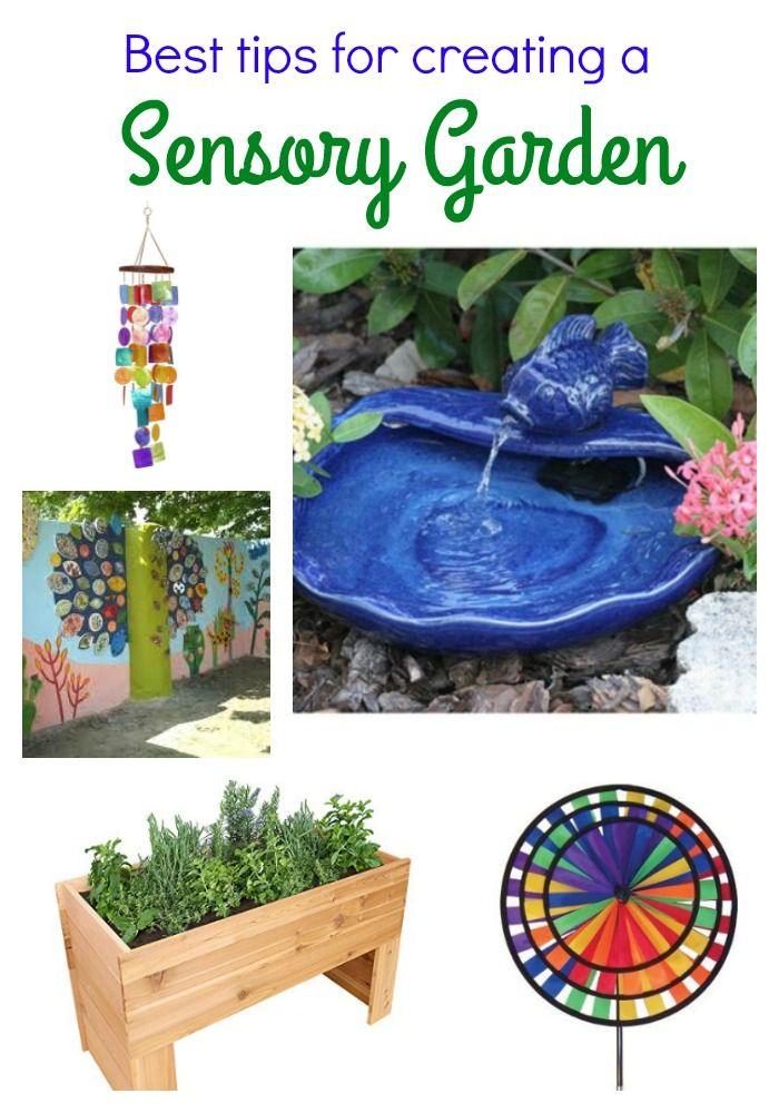Great ideas for creating a sensory garden from Joyful ...
