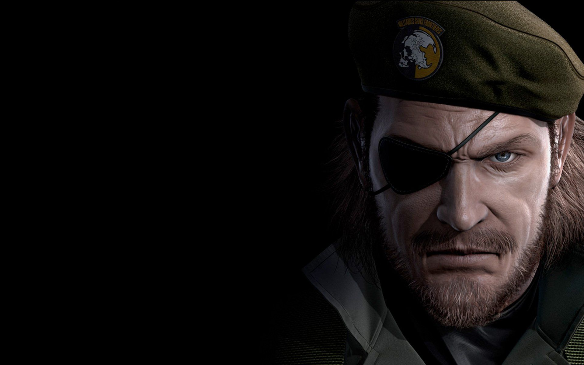 Metal Gear Solid V Ground Zeroes Big Boss Video Games Hd