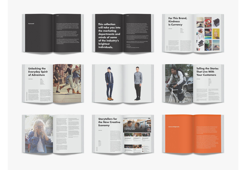 Spreads editorial pinterest graphic design portfolios and