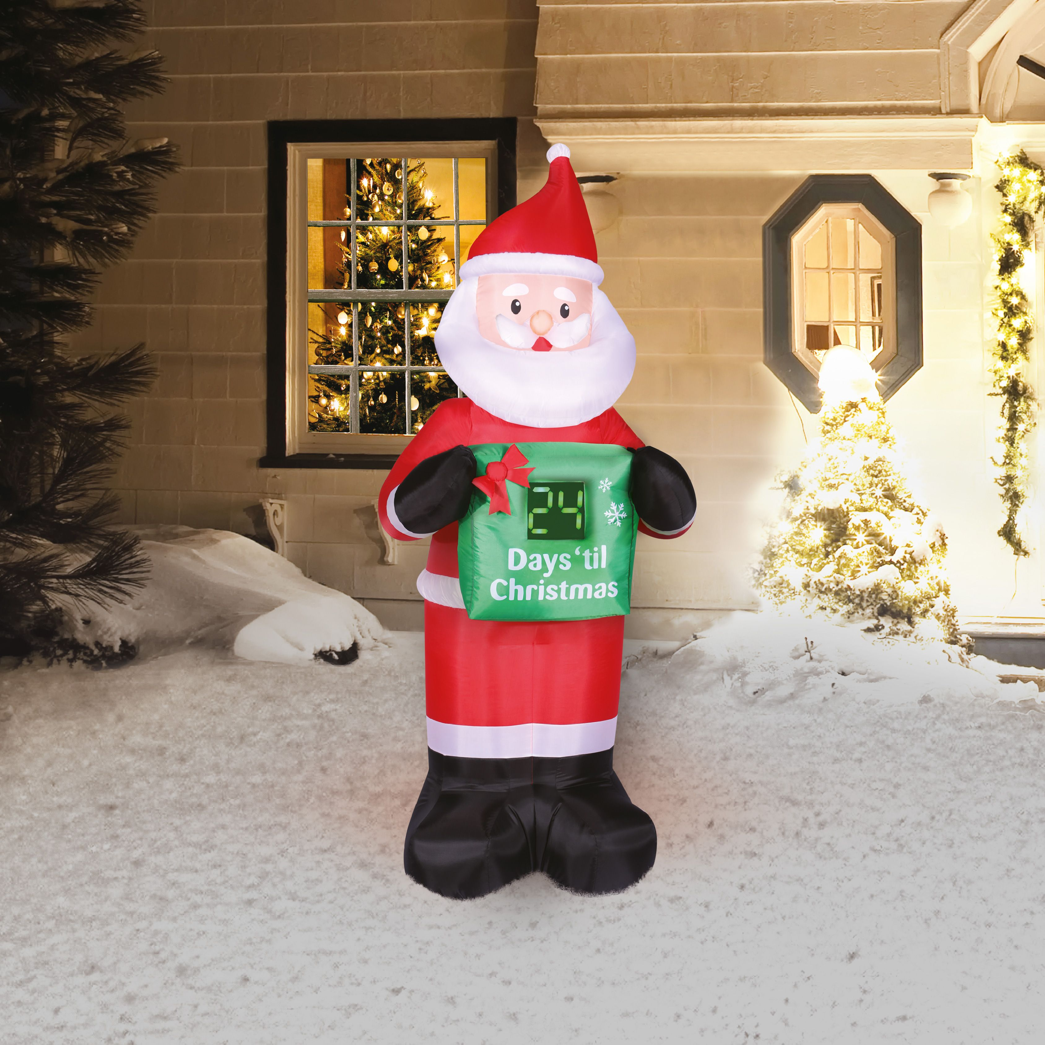20+ Christmas Countdown Outdoor Decoration   MAGZHOUSE