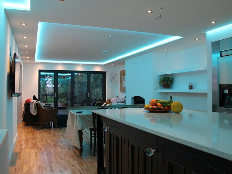 How To Decorate Your Home Using Led Light Strips False Ceiling