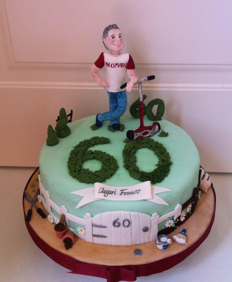 Torta Compleanno 60 Anni Torta Giardiniere Le Dolci