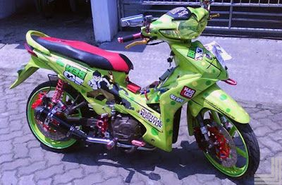 Modifikasi Motor Revo 110 Fit Honda Motor