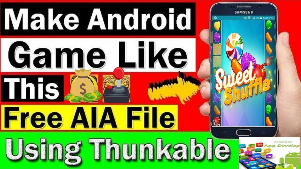 How To Make Game in Thunkable Or Makeroid Appybullder With Aia File
