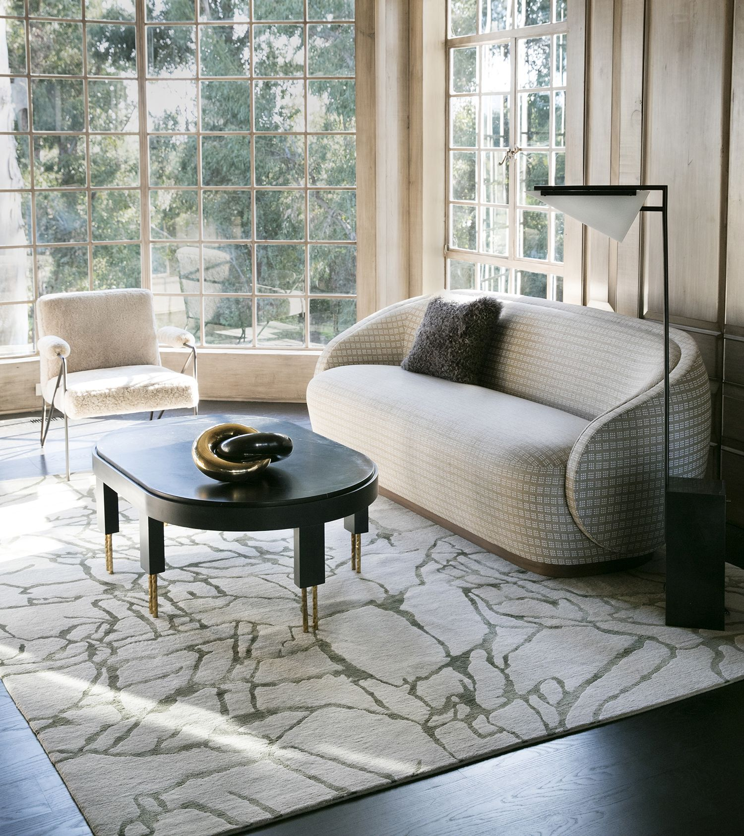 Forma Floor Lamp 客厅 Flooring Floor Lamp Kelly Wearstler