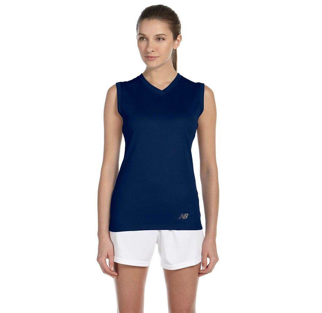 New Balance Women's Performance Sleeveless V-Neck T-Shirt – UntilGone.com