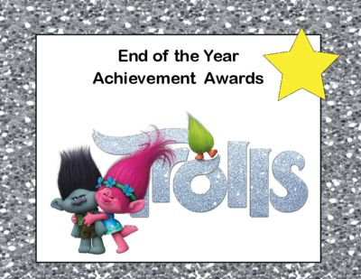 End Of Year Awards For Your Students With A Fun Theme These