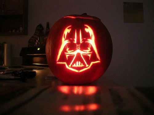 darth vader jack o lantern - Halloween Darth Vader