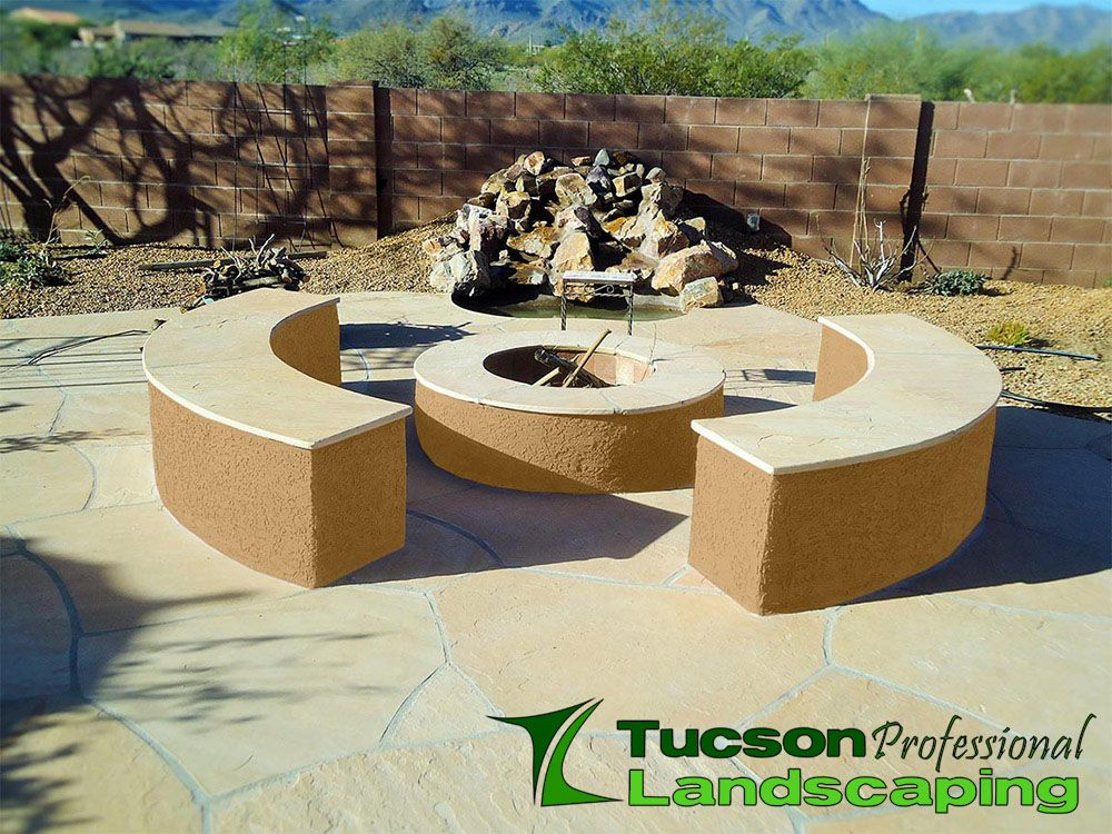 Fire Pit With Images Fire Pit Professional Landscaping
