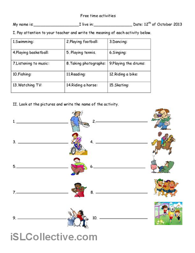 Worksheets Free Teaching Worksheets free teaching worksheets delibertad hobbies and time activities time