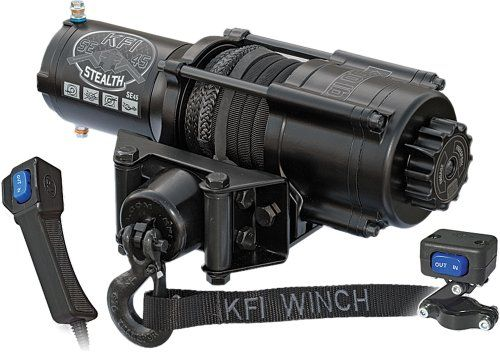 ATV Winches KFI Products SE45 ATV Stealth Winch Kit