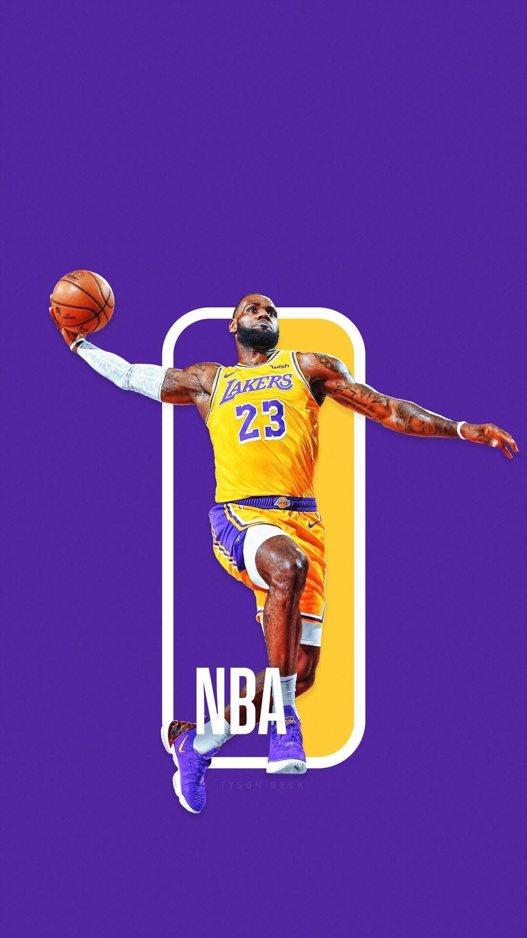 LeBron James Wallpaper Lebron james wallpapers, Nba logo