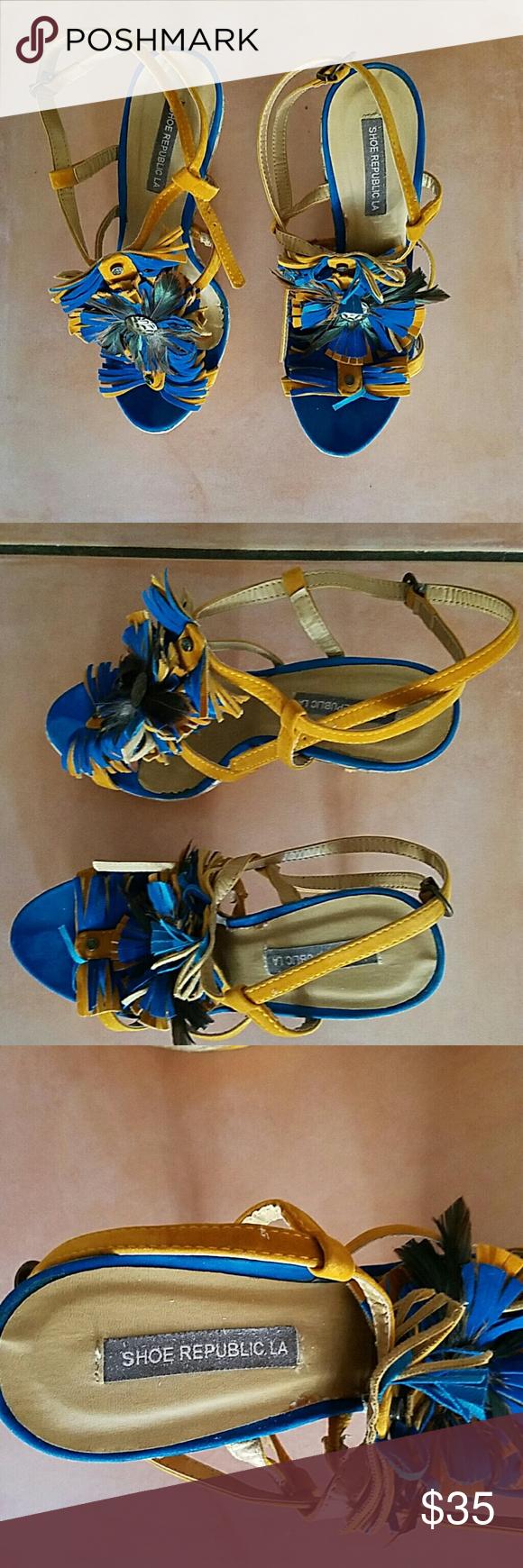 Shoe republic la Women Pre-owned Shoe republic la size 8, multiple colors. Republic LA Shoes Heels