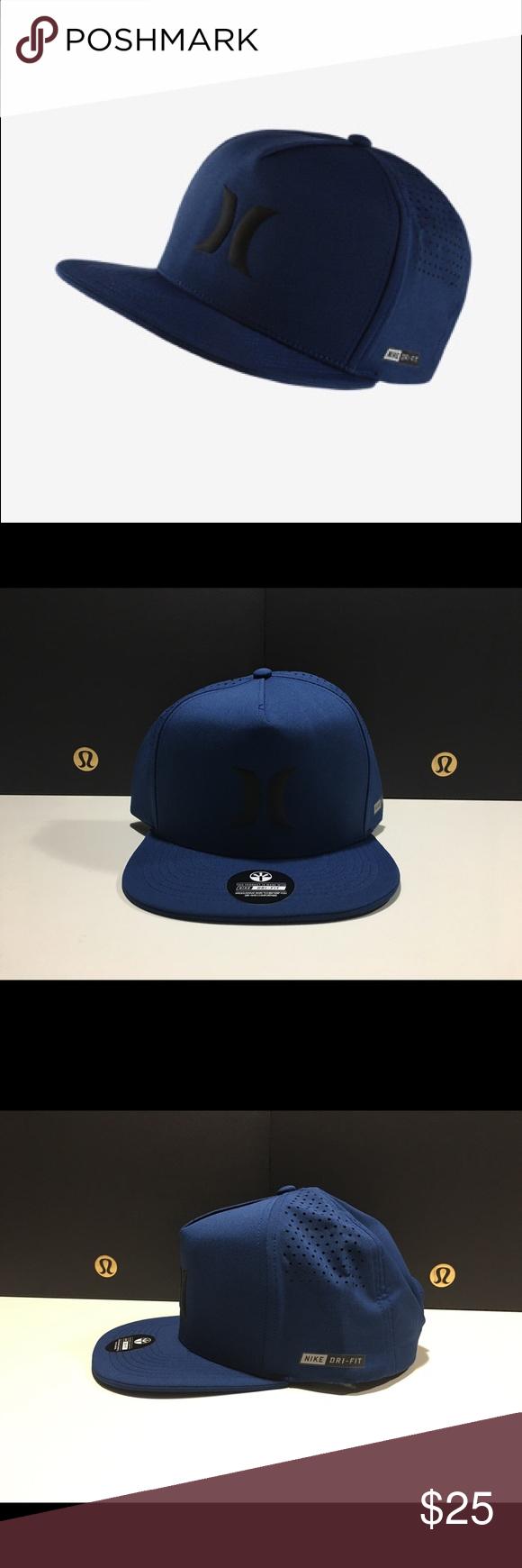 6d63e6fa379da Hurley DRI FIT Icon SnapBack Hat NWT 💯% authentic