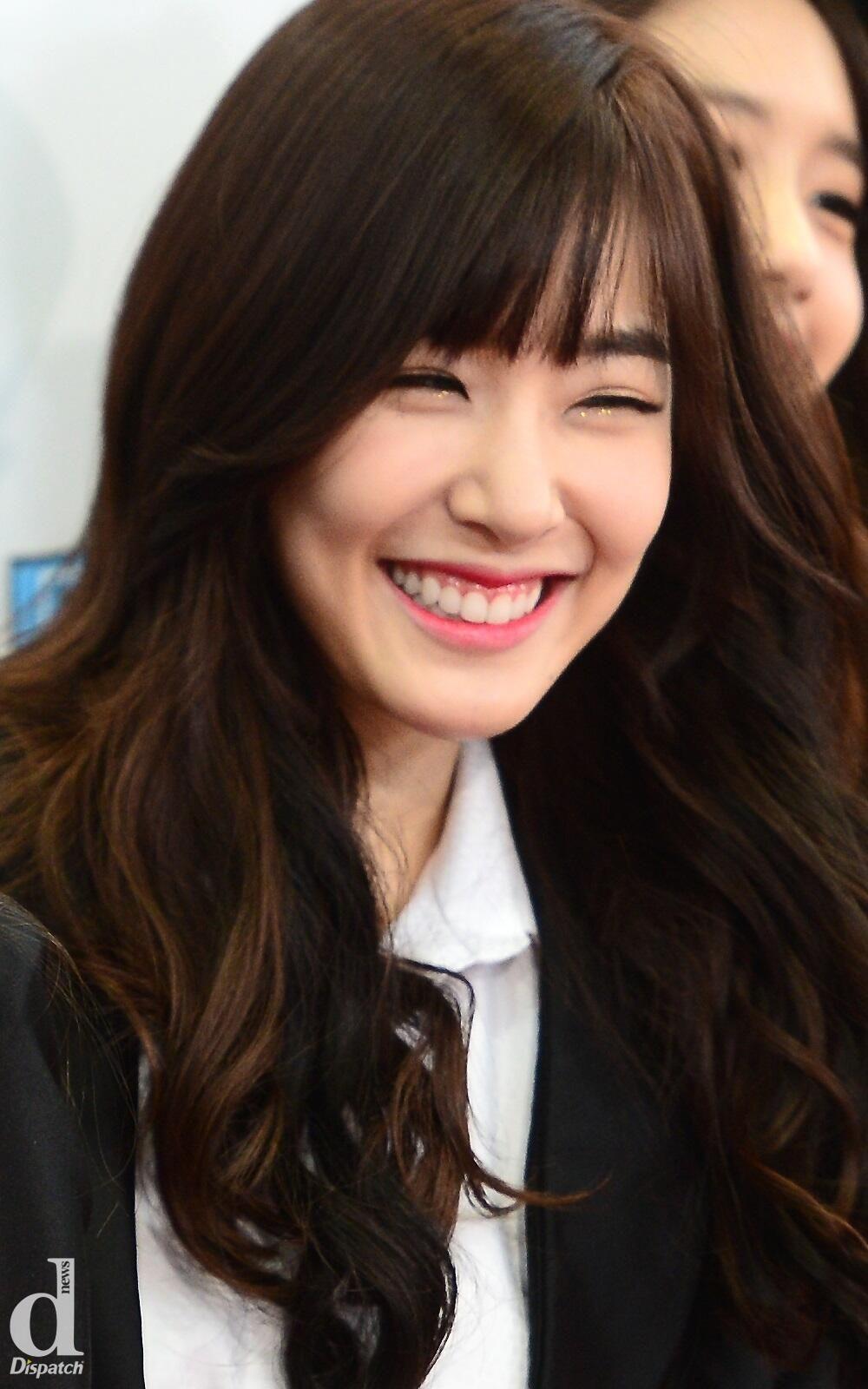 Tiffany Hwang SNSD eyesmile