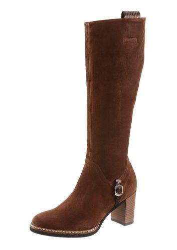 low priced 26863 8852b GABOR #Damen #Stiefel #braun Diese schlichten Lederstiefel ...