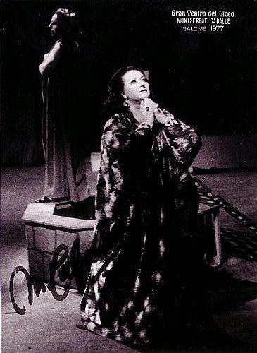 La Salomé de la Caballé al Gran Teatro del Liceu, Barcelona 1977