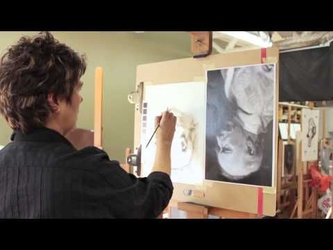 Painting the Portrait: The Grisaille Method in Oil Part 1 - YouTube