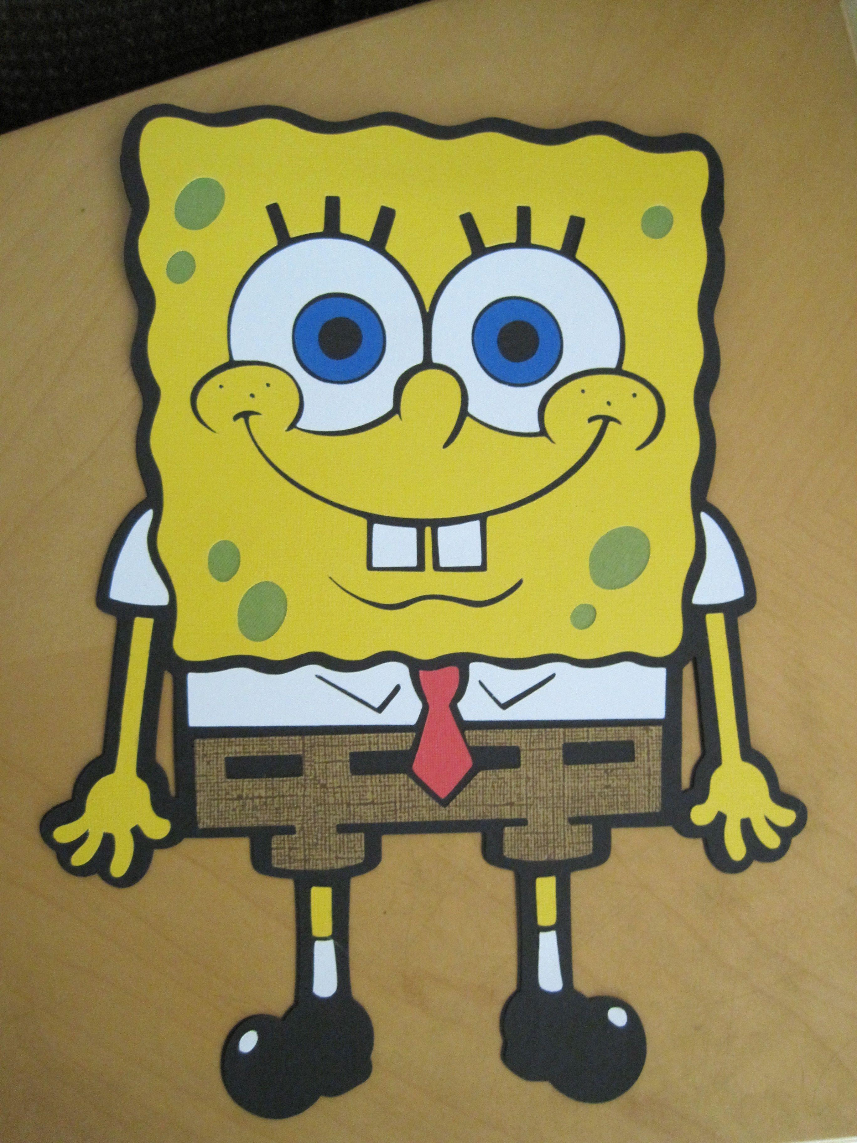 spongebob birthday card My cards Pinterest – Spongebob Birthday Cards