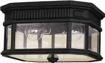 Murray Feiss MF OL5413 Traditional 2 Light Outdoor Ceiling Fixture ...