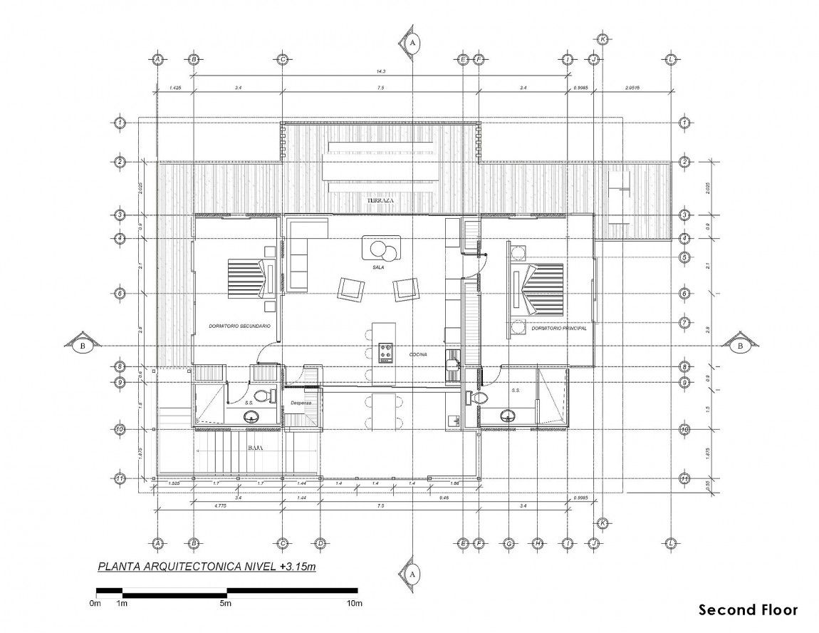 Casa ISEAMI in Costa Rica by Robles Arquitectos – Costa Rica Home Floor Plans